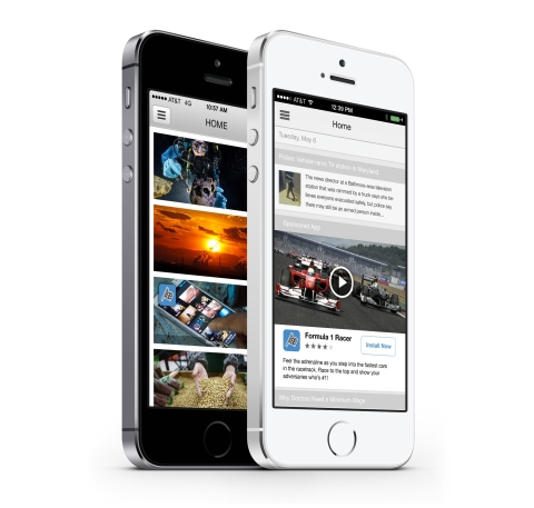 OpenX Mobile SDK for Video screenshot (Photo: Business Wire)