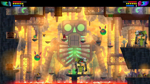 Guacamelee! is an action-platformer set in a magical, Mexican-inspired world. Explore lively towns a ...