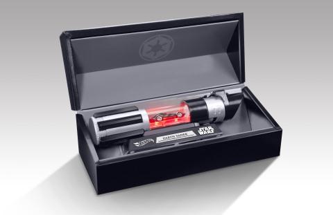 Hot Wheels® Star Wars™ Darth Vader vehicle (Photo: Business Wire)