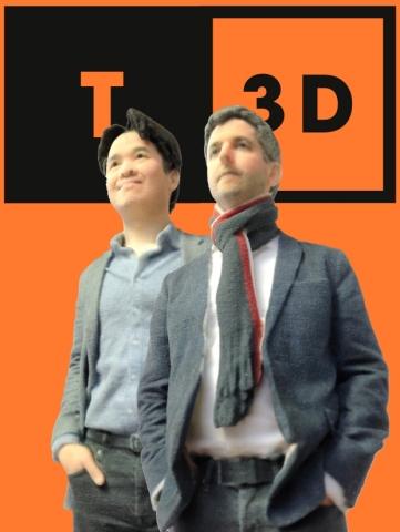 Things3D Founders - Joe Wee & Chris Byatte (Photo: Business Wire)