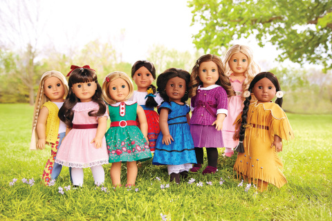 American Girl's BeForever line of historical dolls, books, and related accessories. (Photo: Business ...