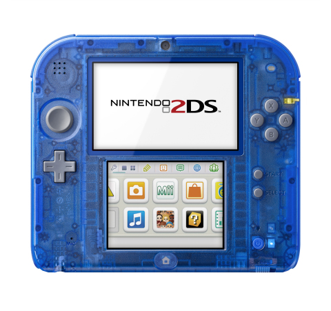 On Nov. 21, Nintendo launches new Crystal Red and Crystal Blue Nintendo 2DS systems at a suggested r ...