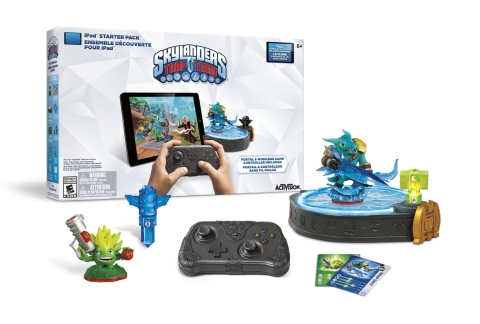 Skylanders Trap Team Starter Pack for iPad (Photo: Business Wire)