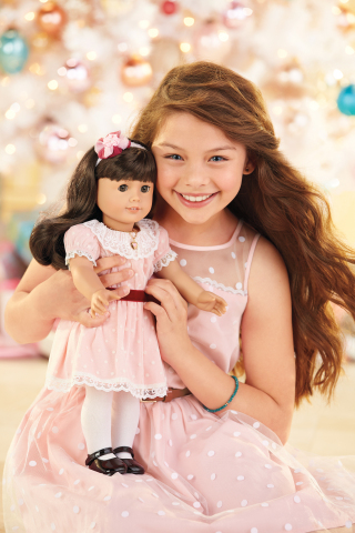 The Samantha doll from American Girl's BeForever line of historical dolls, books, and accessories. ( ...