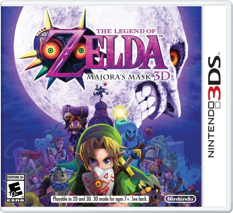 """""""Dawn of the First Day. 72 Hours Remain."""" With these iconic words, Link begins his suspenseful three ..."""
