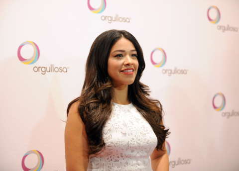 "Golden Globe winning Actress Gina Rodriguez attends P&G Orgullosa's forum ""Nueva Latinas Living Fabu ..."