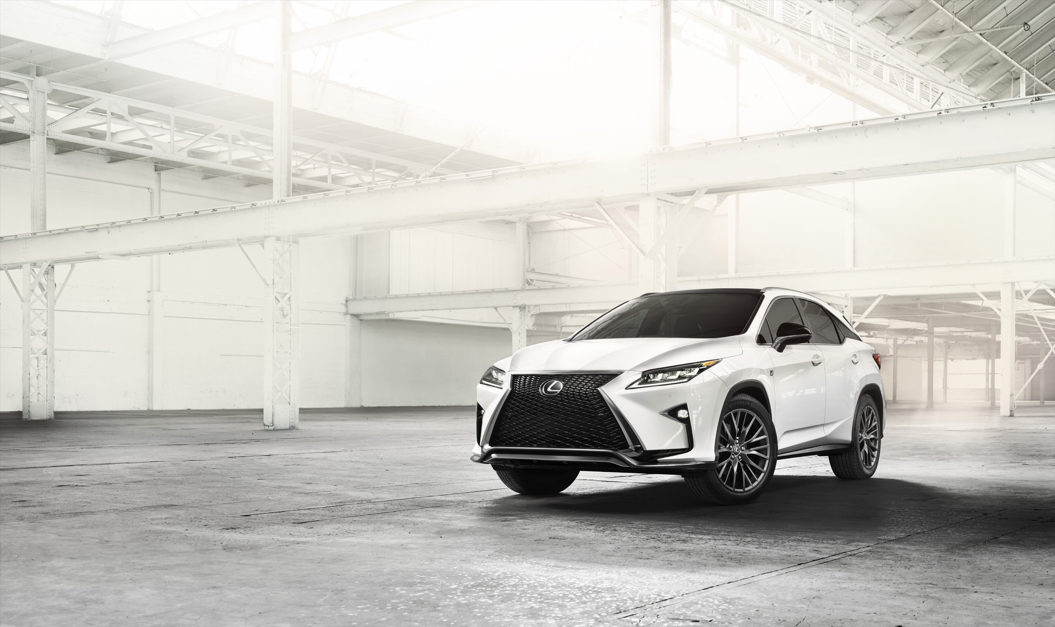 The All New 2016 Lexus RX Makes Global Debut at the New York