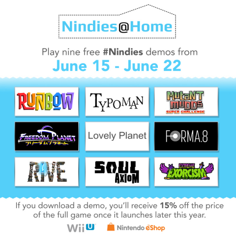For a limited time only, the Nindies@Home program lets people download free demos of nine upcoming N ...