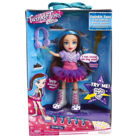 Twinkle Toes branded doll featuring light-up shoes (Photo: Business Wire)