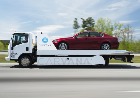 Carvana, the leading national online auto retailer and creator of the world's first coin-operated Ca ...