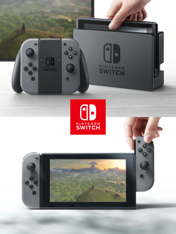 In addition to providing single and multiplayer thrills at home, the Nintendo Switch system also ena ...