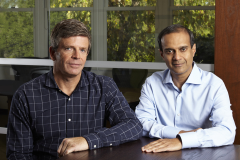 Peter Wagner and Gaurav Garg, co-founders of Wing Venture Capital. On Wednesday, Wing announced it h ...