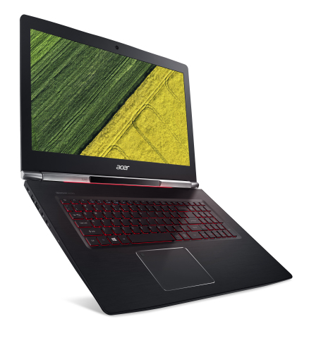 Acer Aspire V 17 Nitro Black Edition with integrated Tobii eye tracking, creating smoother workflows ...
