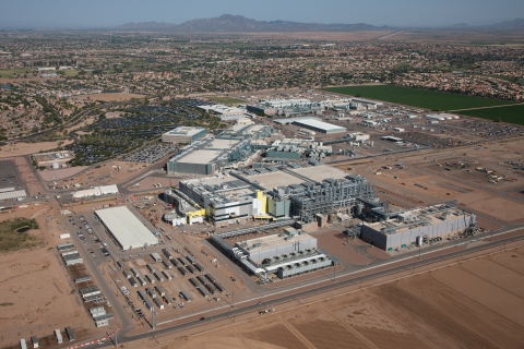 Intel Corporation on Tuesday, Feb. 8, 2017, announced plans to invest more than $7 billion to complete Fab 42. On completion, Fab 42 in Chandler, Ariz., is expected to be the most advanced semiconductor factory in the world. (Credit: Intel Corporation)