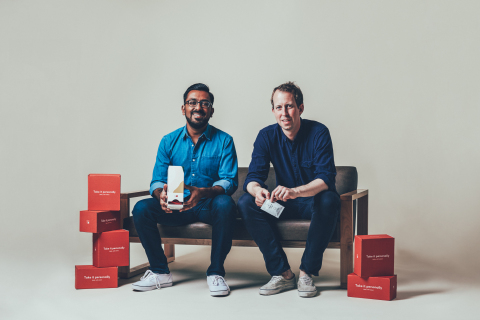 Akash Shah, Co-founder and Head of Product, and Craig Elbert, CEO and Co-founder, Care/of. (Photo: B ...