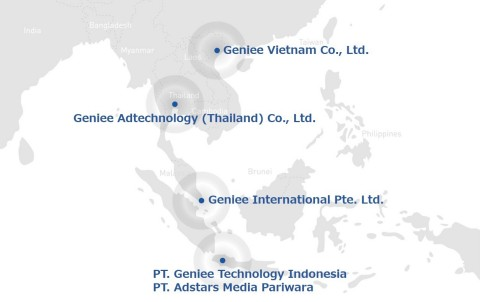 Our Southeast Asian expansion (Graphic: Business Wire)