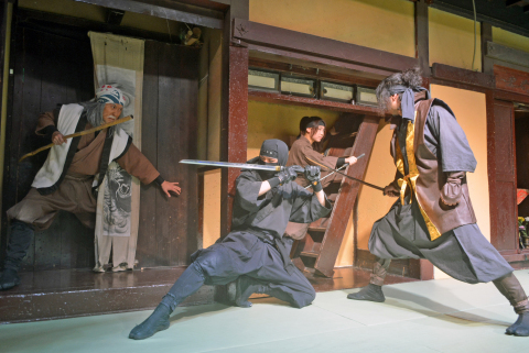 Ninja Show at Noboribetsu Date Jidaimura (Photo: Business Wire)