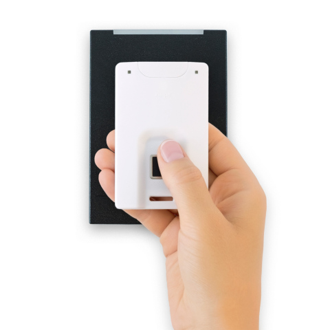 Zwipe® Access Cards with Biometric Authentication deliver simple, affordable dual-factor biometric authentication upgrade to existing single-factor access control systems. (Photo: Business Wire)