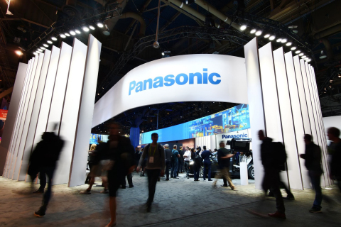 Panasonic booth at CES 2018 (Photo: Business Wire)