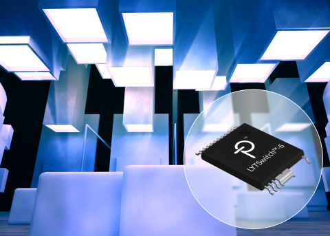 LYTSwitch-6 LED drivers from Power Integrations feature high efficiency and very low standby power;  ...