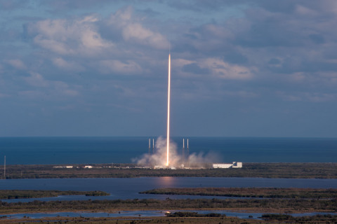 GovSat-1 launch. (Photo: SpaceX)