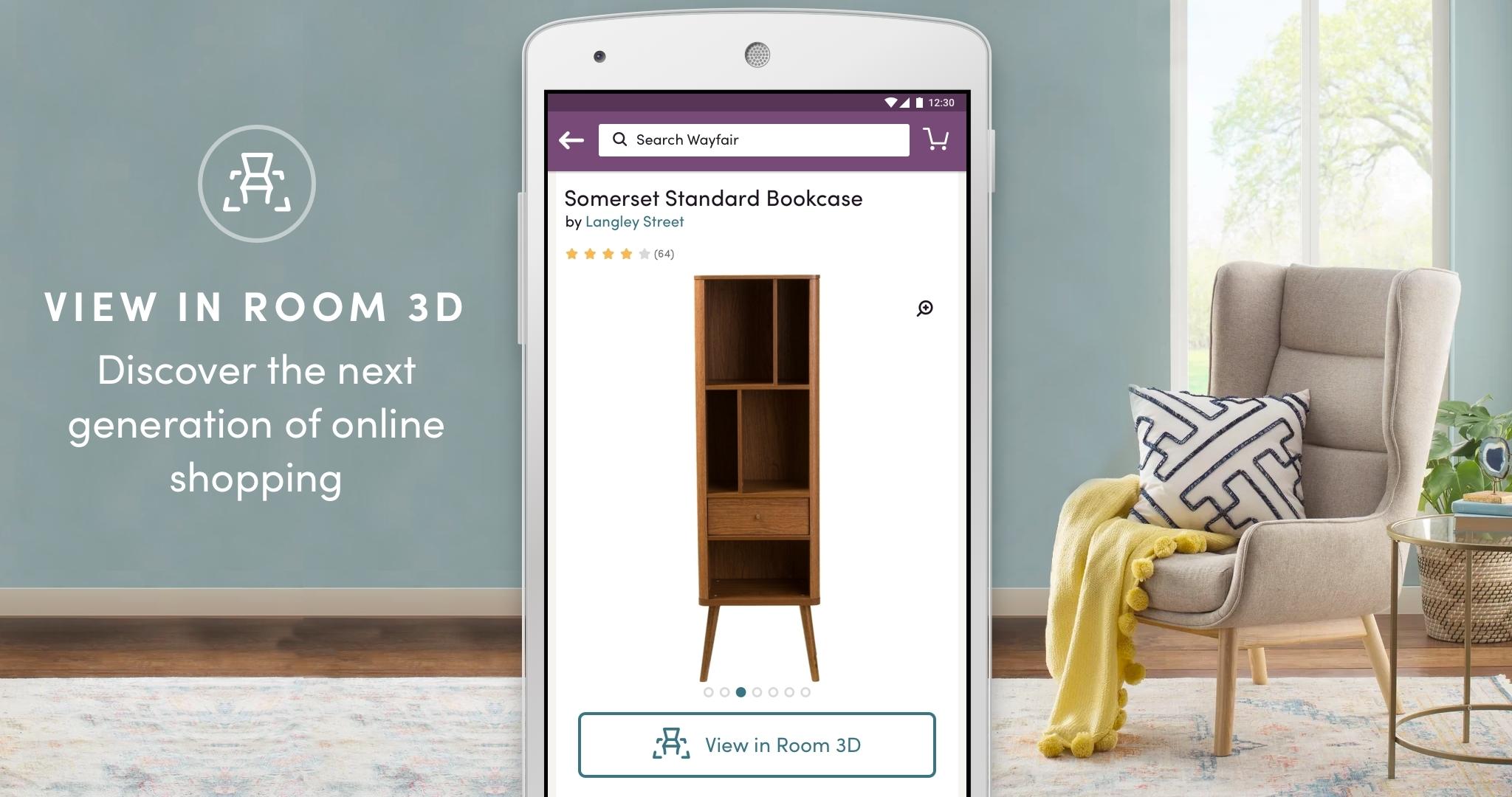 wayfair mobile shopping app can turn
