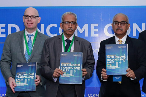 Ari Lehavi, Executive Director of Learning Solutions at Moody's Analytics, Gurumoorthy Mahalingam, W ...