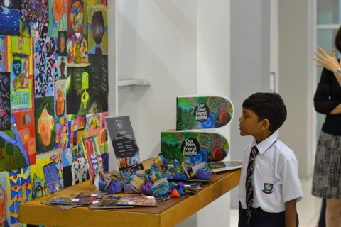 A picture from the activities Dignity Foundation organizes for refugee children (Photo: The Big Hear ...