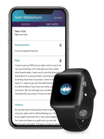 Sopris Health, an intelligent clinical operations platform, offers a pioneering A.I. medical scribe  ...