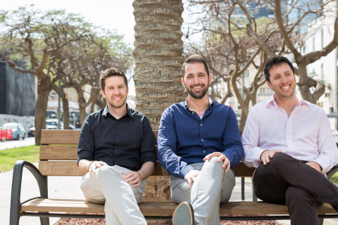 l. to r. Vulcan Cyber Co-founders: Roy Horev, CTO; Yaniv Bar-Dayan, CEO; Tal Morgenstern, Chief Prod ...