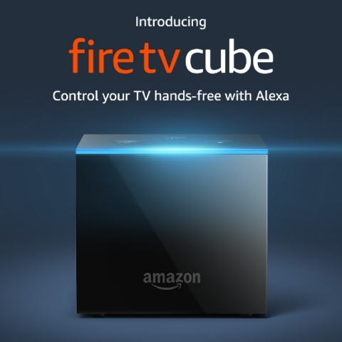Introducing Fire TV Cube - Control Your TV Hands-Free With Alexa. (Photo: Business Wire)