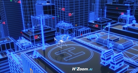 Artificial intelligence meets building inspections for the cities of tomorrow.(Photo: Business Wire)