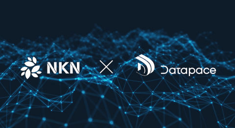 NKN and Datapace announcing a joint collaboration (Graphic: Business Wire)