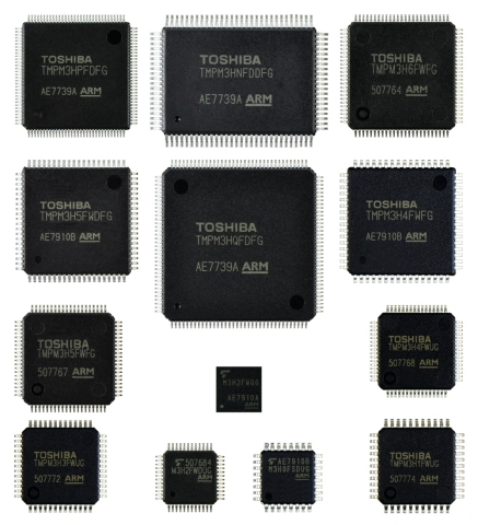"Toshiba: Arm Cortex-M3 core-based ""M3H group"" microcontrollers. (Photo: Business Wire)"
