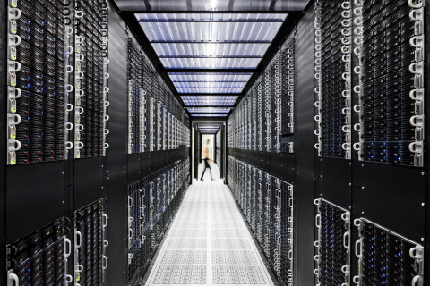 Inside an IBM Cloud Data Center (Credit: Connie Zhou for IBM)