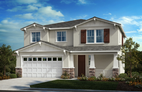 New KB homes now available in Perris, California. (Photo: Business Wire)