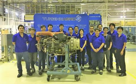 TurbineAero Repair–Asia, APU Operations Team (Photo: Business Wire)