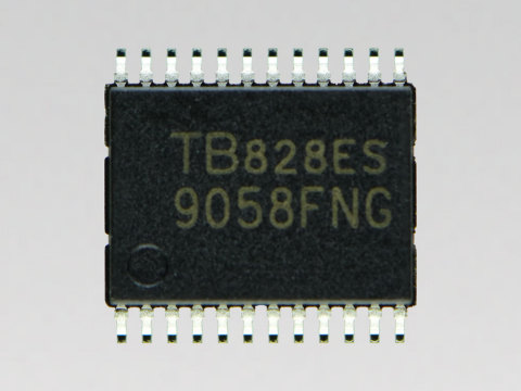 "Toshiba: Automotive DC motor driver IC ""TB9058FNG"" (Photo: Business Wire)"