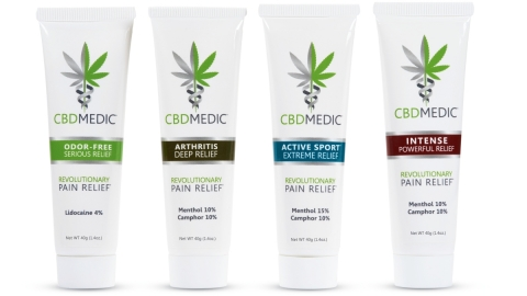 CBD Medic Pain Relief Products (Photo: Business Wire)