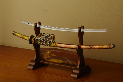 Swords from various periods in Japanese history dating back to the Heian Period (794-1185) to as rec ...