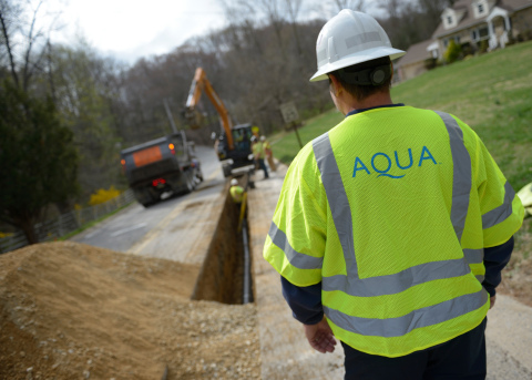Aqua plans to invest more than $555 million in 2019 to improve its water and wastewater systems. (Ph ...