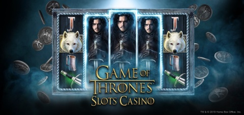 Game of Thrones Slots Casino from Zynga Inc. (Graphic: Business Wire)