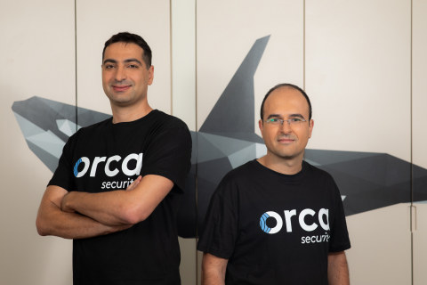 Orca Security Managing Founders - (r.) Avi Shua, CEO and co-founder and (l.) Gil Geron, Chief Produc ...