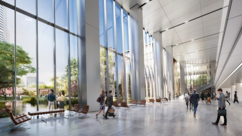 Image of Office Lobby (Graphic: Business Wire)
