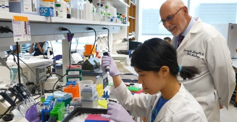 The Mary Kay Foundation℠ has a long-standing partnership with UT Southwestern through a strong collaboration with Dr. Jerry W. Shay, cell biology professor at UT Southwestern and The Mary Kay Foundation℠ Distinguished Professorship honoree. (Photo: Mary Kay Inc.)