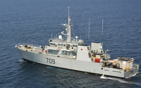 The HCMS Saskatoon (Photo: Business Wire)