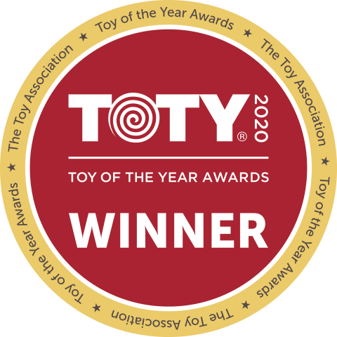 "Mattel Receives Record Number of ""Toy of the Year"" Awards (Graphic: Business Wire)"