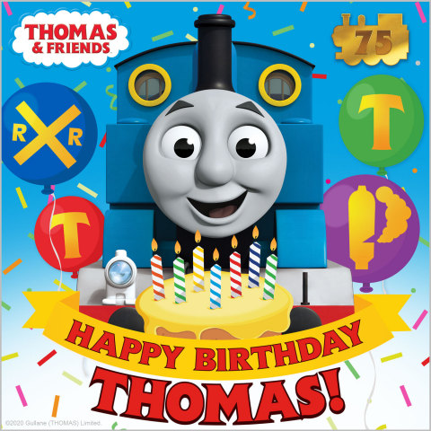 WMG's Arts Music division and Mattel will make hundreds of never-before-released songs from its catalog available for the first time and will collaborate on the creation and distribution of new music including the upcoming Thomas & Friends' birthday album, which will launch on digital streaming services starting May 8. (Graphic: Business Wire)
