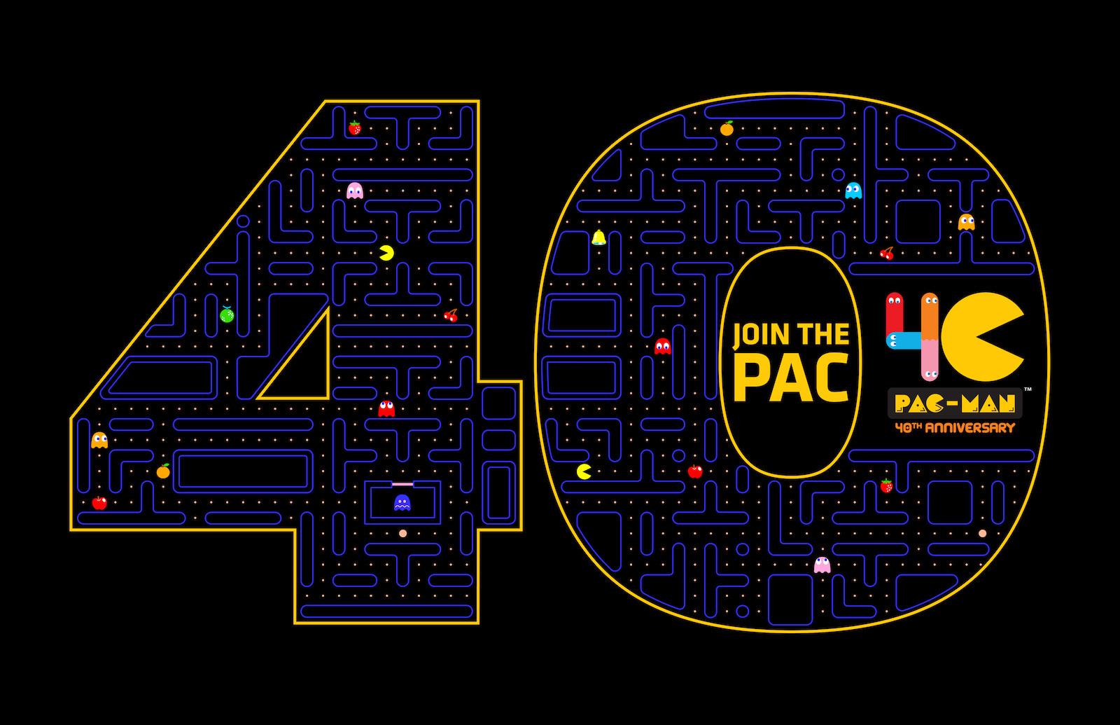 Pac Man The Original Video Game Super Star Celebrates His 40th Birthday Today Business Wire