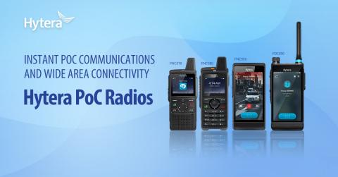 Hytera PoC Radios (Graphic: Business Wire)